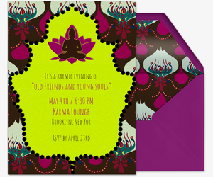 Kool Karma Invitation