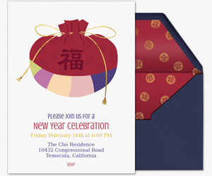 korean new year bokjumeoni invitation