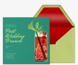 Ladies Brunch Invitation