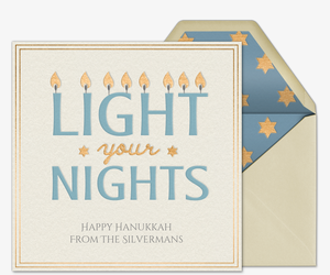 Light Your Nights Card