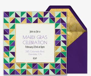 Free Mardi Gras Invitations | Evite