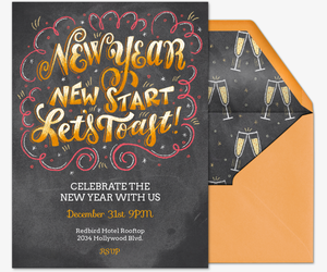 New Start Invitation