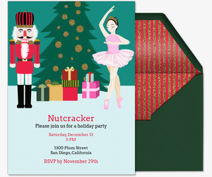 Nutcracker Ballet Invitation
