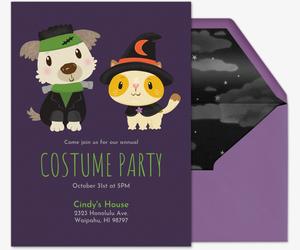 free online halloween invitations for kids evite com
