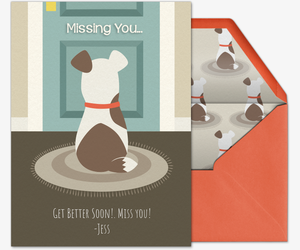 Pet Dog Door Invitation