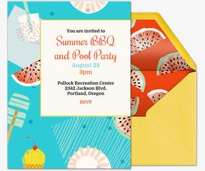 free online backyard barbecue bbq invitations evite