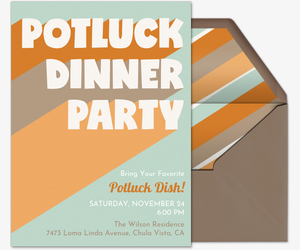 Free Potluck Invitations