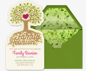 Reunite with your Roots Invitation