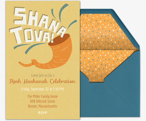Shofar Invitation