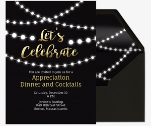 Free Corporate Professional & Office Event Invitations