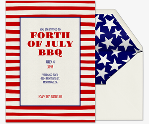 free fourth of july party invitations evite com .