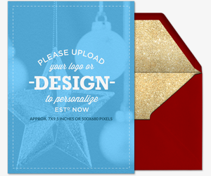Design Your Own Holiday Portrait Card