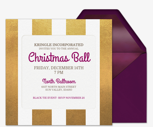 Holiday Best Invitation