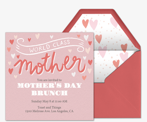 free mother s day online invitations evite