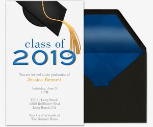 Golden Tassel 2019 Invitation