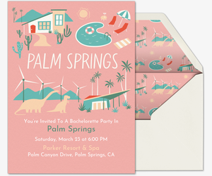Palm Springs Invitation