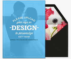 Design Your Own Love Blooms Invitation