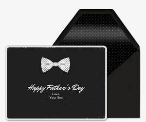 Bow Tie Invitation