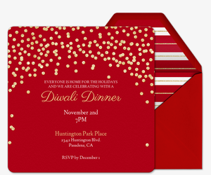 Holiday Sparkle Invitation
