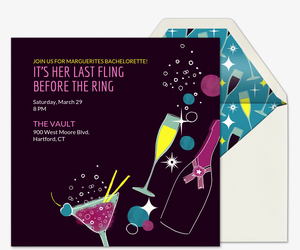 Design Your Own Invitation S And Cheers