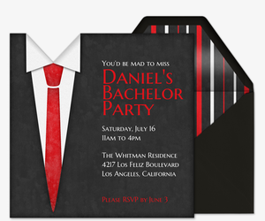 Free Online Bachelor Party Invitations Evite