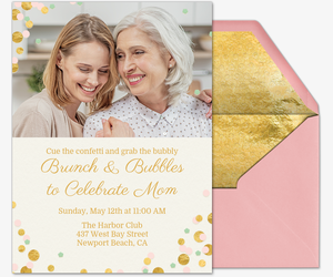 Celebrate Mom Invitation