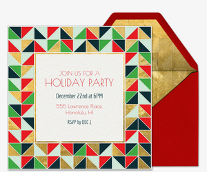 Mosaic Joy Invitation