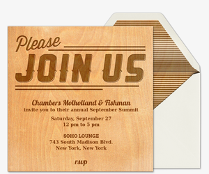 Free Meeting Invitations Evite