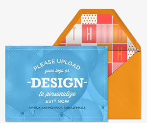 Design Your Own Thanks Card