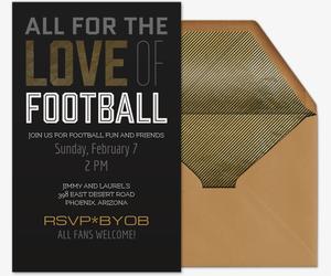 Free Online Football Invitations Evite