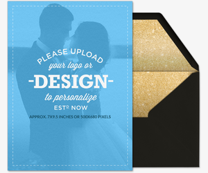 Design Your Own Wedding Portrait Card