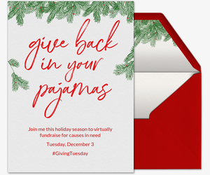 Giving Tuesday Invitation
