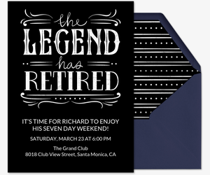 Free Retirement And Farewell Party Invitations Evite