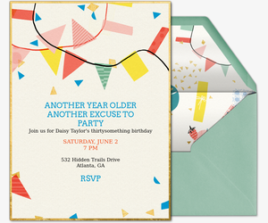 Excuse to Party Invitation