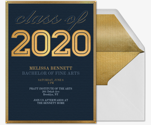 Momentous Occasion 2020 Invitation