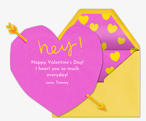 Cupid's Heart Card