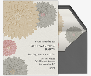 Pressed Blooms Invitation
