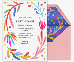 Floral Love Invitation