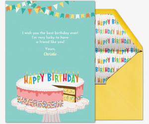 Send Free Birthday Cards Evite