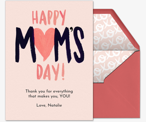 Moms Heart Card