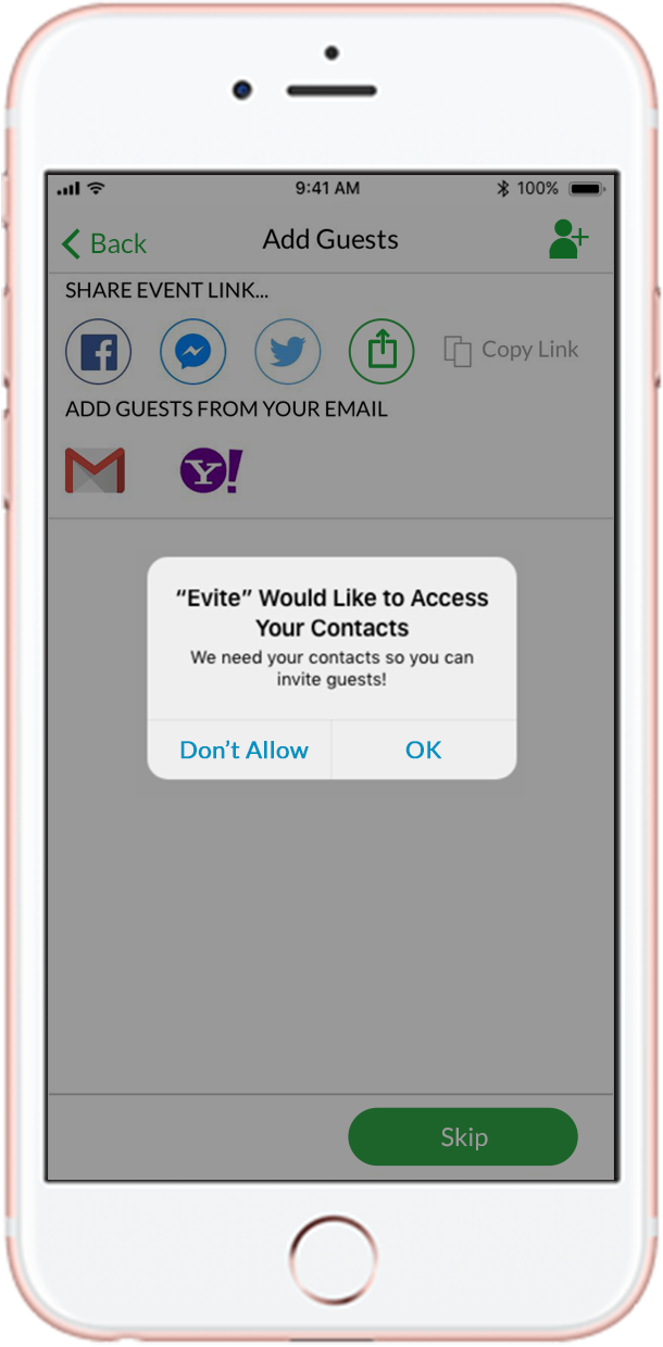 Send Party & Event Invitations by Text Message - Evite com