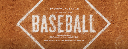 free baseball invitations - ticket designs  u0026 more