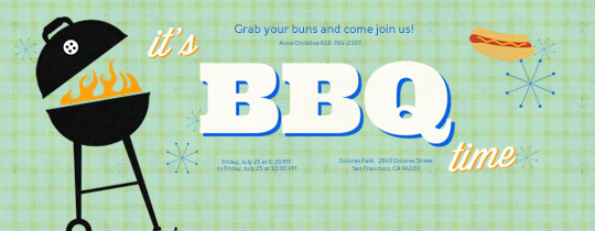 free online bbq invitations