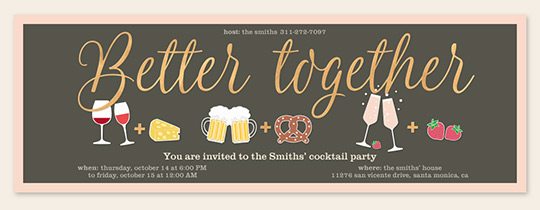 Better Together Invitation