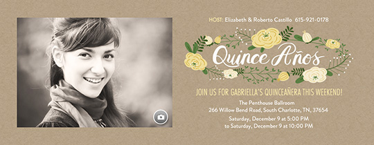 Boho Chic Invitation