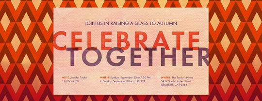 Celebrate Together Invitation