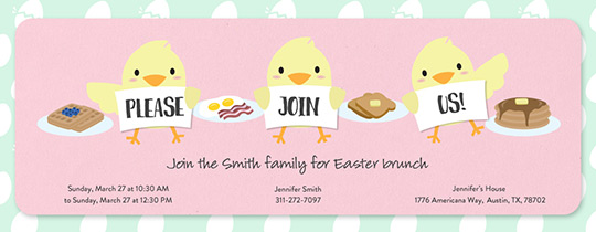 Chicks Who Brunch Invitation
