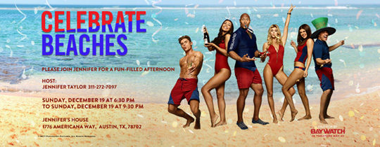 Celebrate Beach Invitation