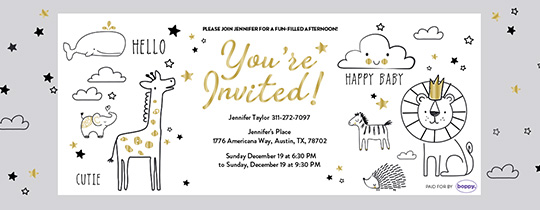 Baby Shower 18 Invitation
