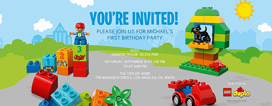 All In One Fun Invitation